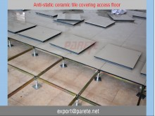 AF-5-Steel access floor with ESD Ceramic Tile