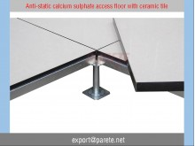 AF-7-Calcium suphate access floor with ESD ceramic tile