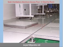 AF-12-Solid Aluminum  access floor system with PVC or HPL