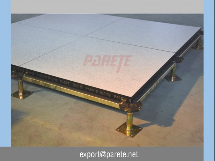 AF-14-Wood core access floor system with HPL covering