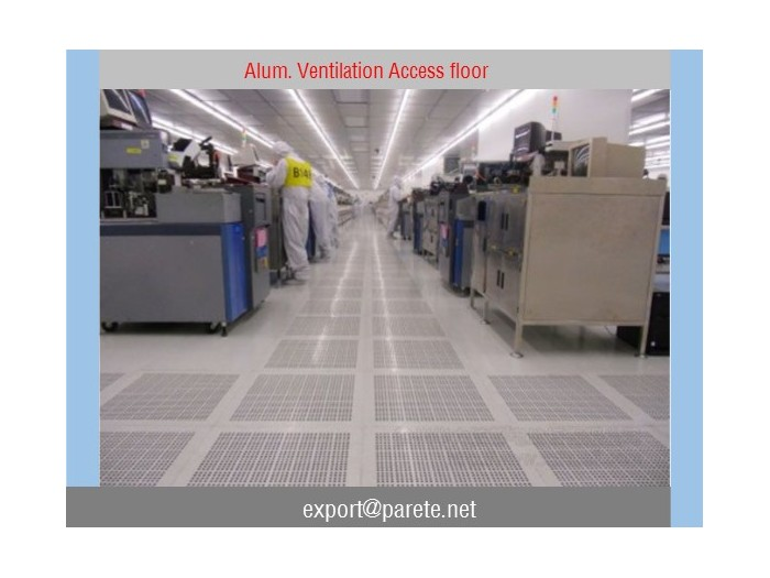 VF-7-Aluminum Ventilation access floor system