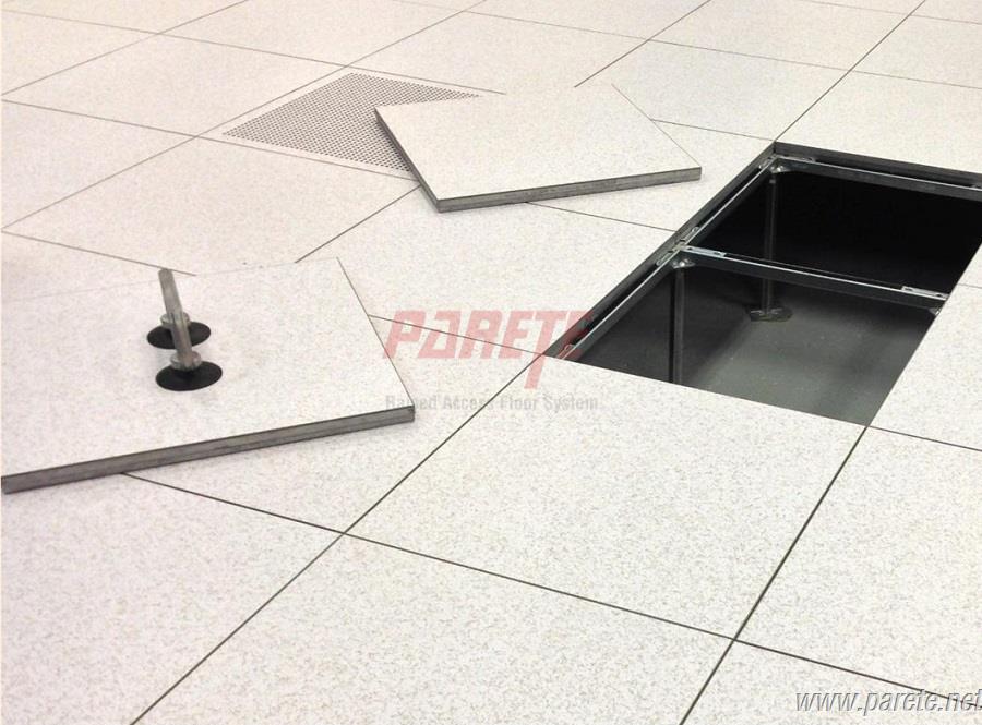 Calcium Suphate Access Floor System With Linoleum