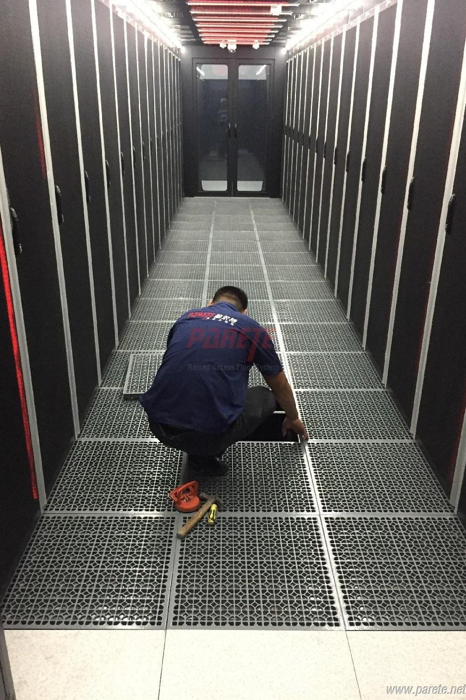 Parete Raised Access Floor System National Data Center Calcium - Data center raised floor weight limits