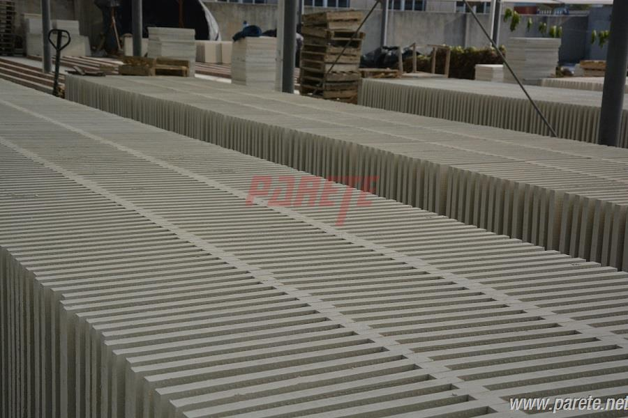 calcium sulphate core drying