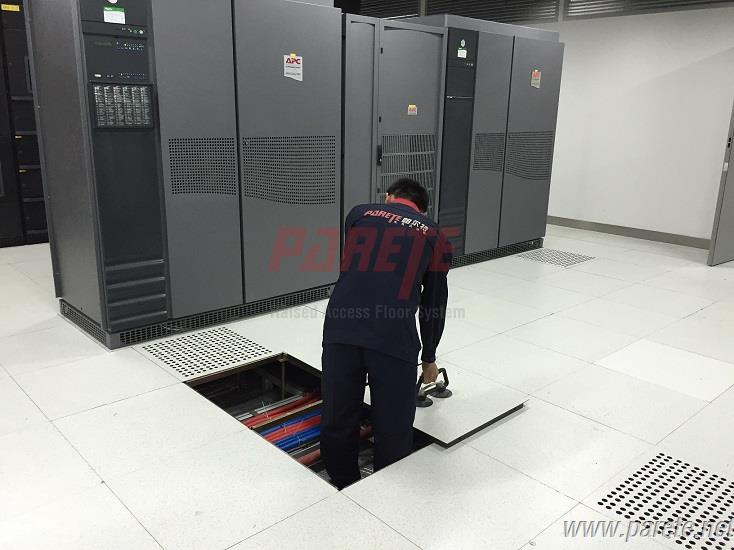 Server Room Floor Tiles : Parete raised access floor system server room